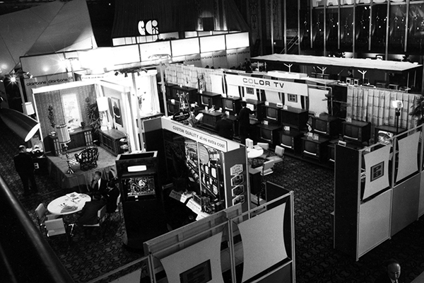The first CES held in New York City (Photo: Business Wire)