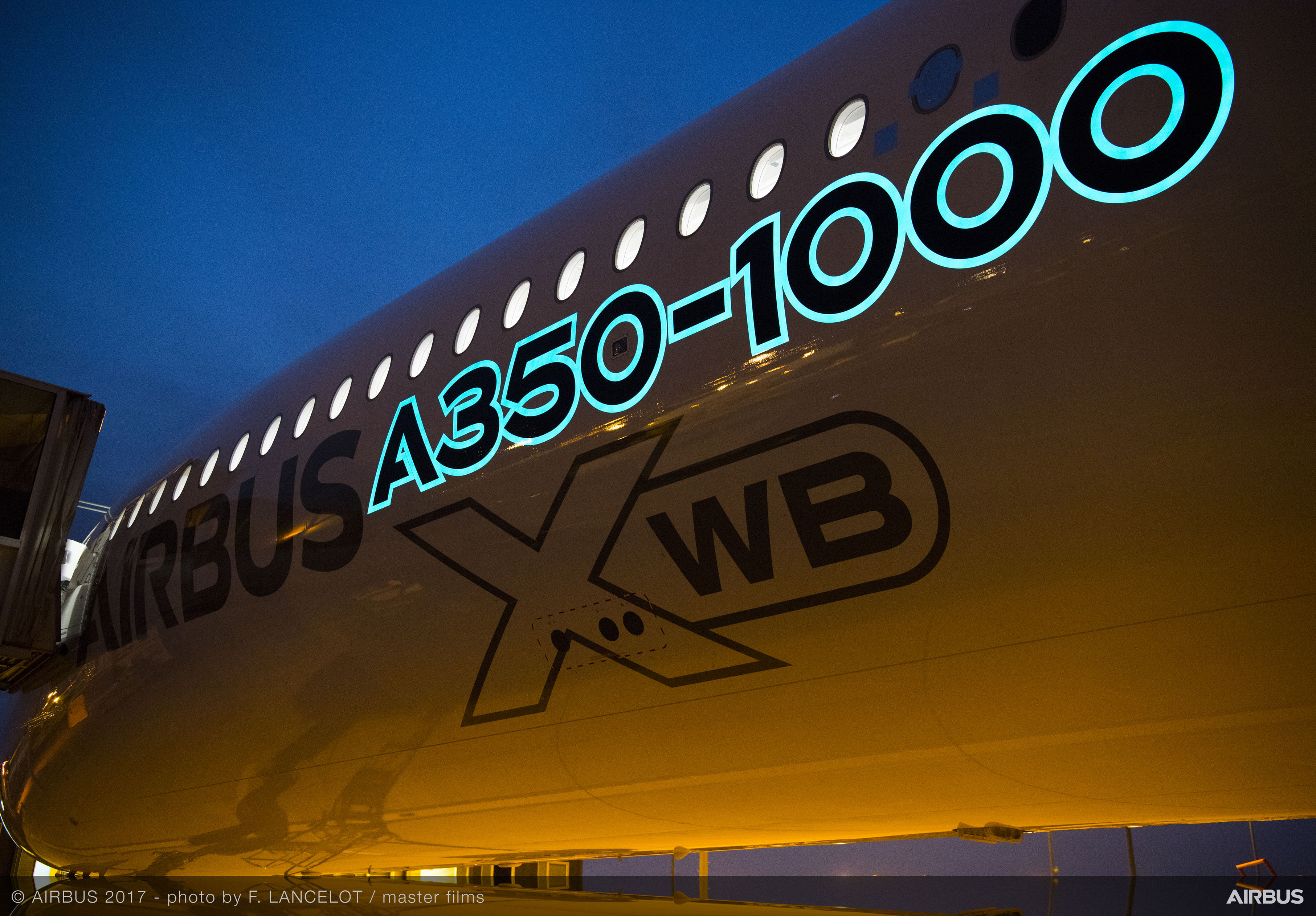 Darkside Scientific, creators of LumiLor Light Emitting Coating, is working with European aircraft manufacturer Airbus to create electroluminescent exterior markings for aircraft. (Photo: Business Wire)