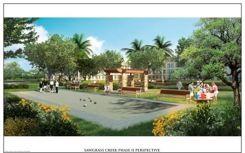 Transcontinental Realty Investors Inc.'s newest Phase II development, Sawgrass Creek in New Port Richey, Florida.
