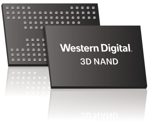 Western Digital Corp. announces development of its next-generation 3D NAND technology, BiCS4, with 96 layers of vertical storage capability. (Photo: Business Wire)