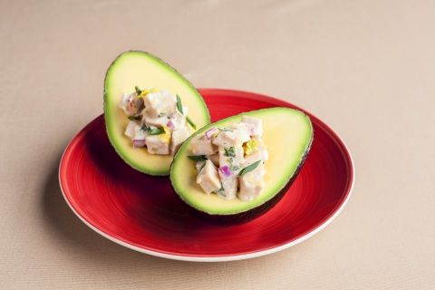 Grilled BBQ Chicken Salad Stuffed California Avocados (Photo: Business Wire)
