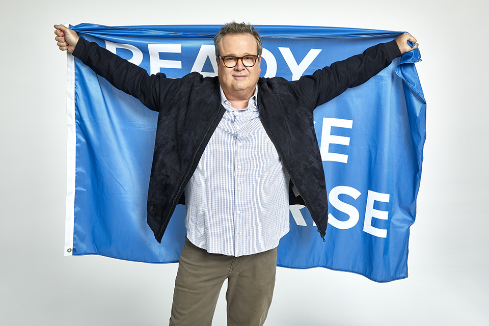 Eric Stonestreet wants you to join the Ready. Raise. Rise. Challenge (Photo: Business Wire)