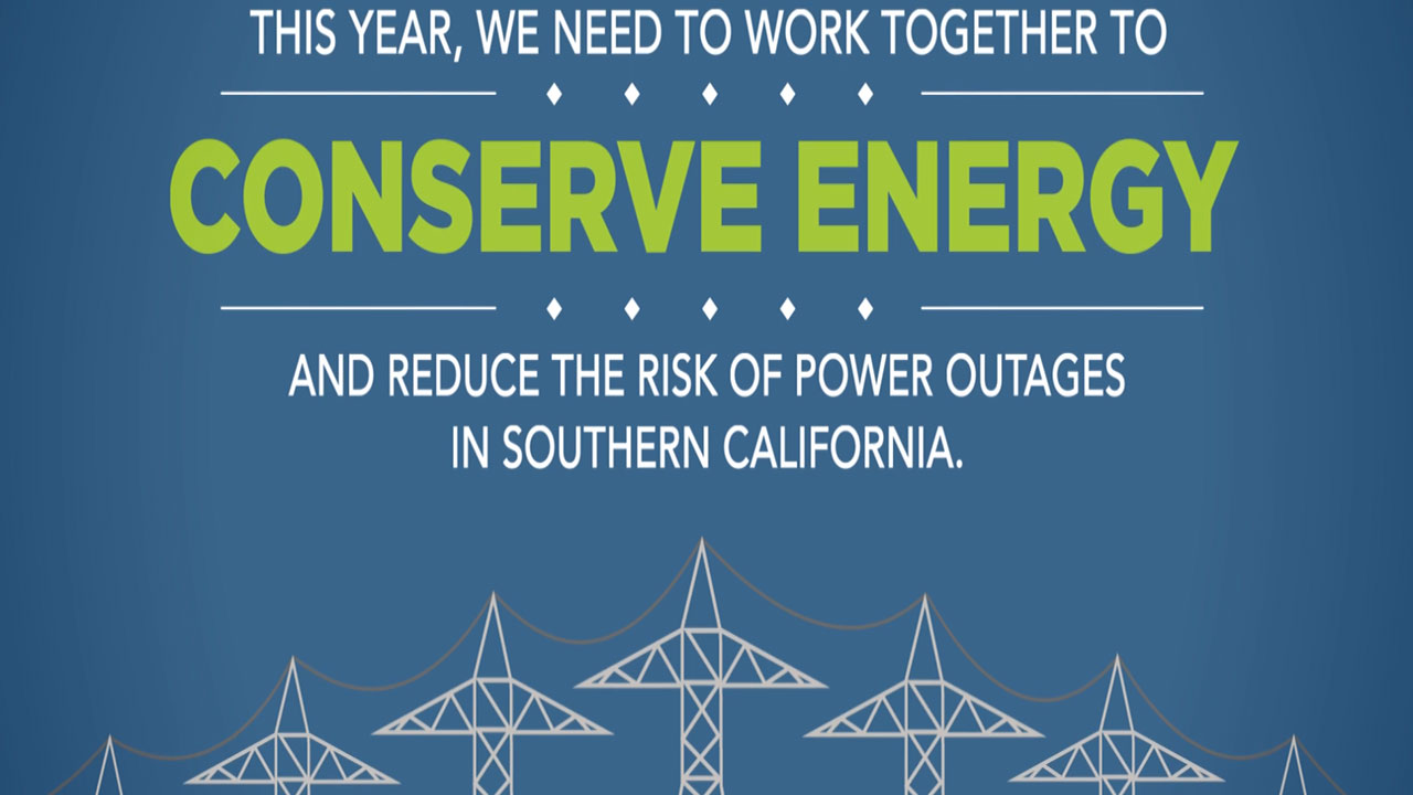 Now in its second year, the Conserve Energy SoCal campaign promotes energy conservation during the summer months by highlighting the links between the region's natural gas and electricity systems. The program was first introduced last summer to bring Southern Californians together to conserve energy, save money and reduce the risk of natural gas and electricity shortages.