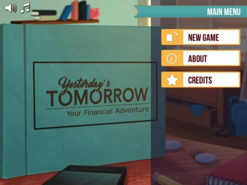 Yesterday's Tomorrow welcome screen (Photo: Business Wire)