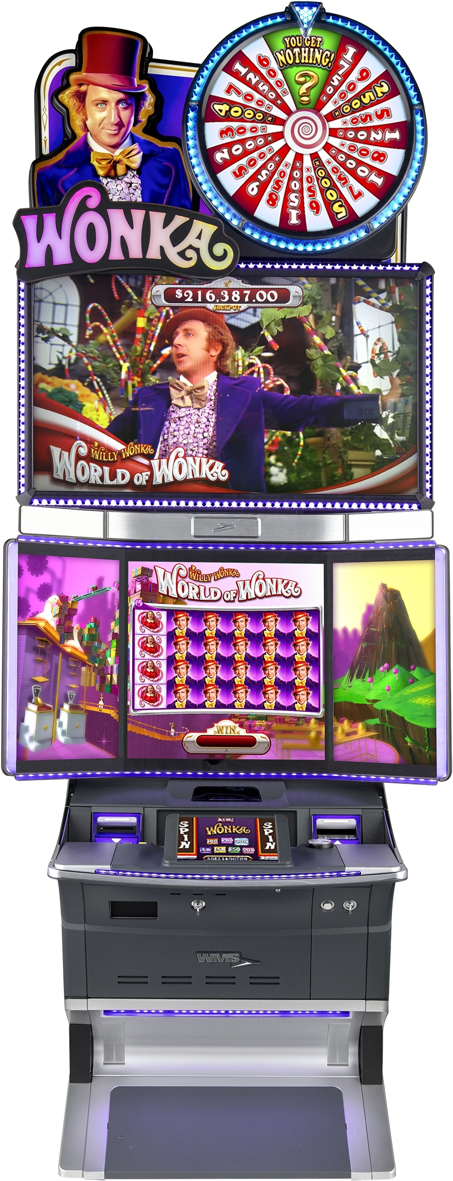 """Scientific Games' """"World of Wonka"""" video slot machine debuts in western Pennsylvania at Rivers Casino. (Photo: Business Wire)"""