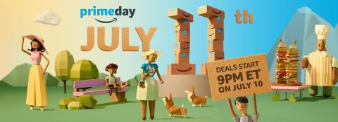 Amazon Announces Third Annual Prime Day – 30 Hours, Hundreds of Thousands of Deals on July 11. Amazon.com/primeday (Photo: Business Wire)