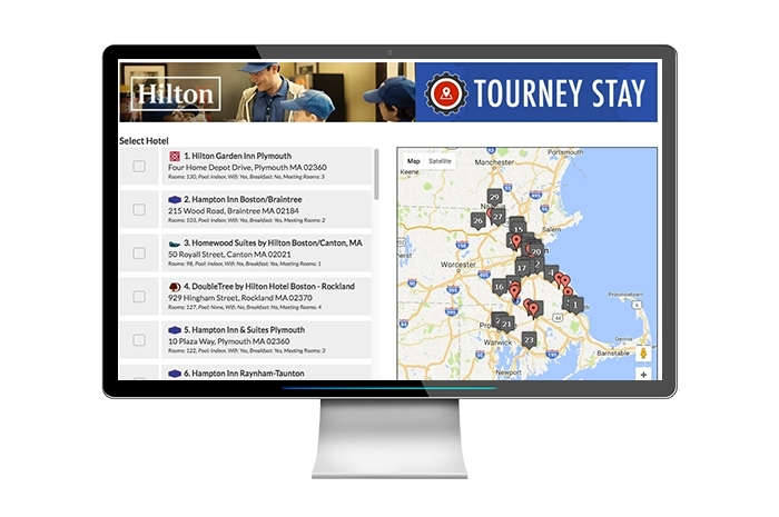 A new mobile platform called SI Play Tourney Machine.(Photo: Business Wire)