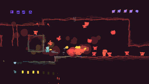 GoNNER from Raw Fury and Art in Heart is a challenging, procedurally generated 2D platformer with roguelike elements. (Photo: Business Wire)