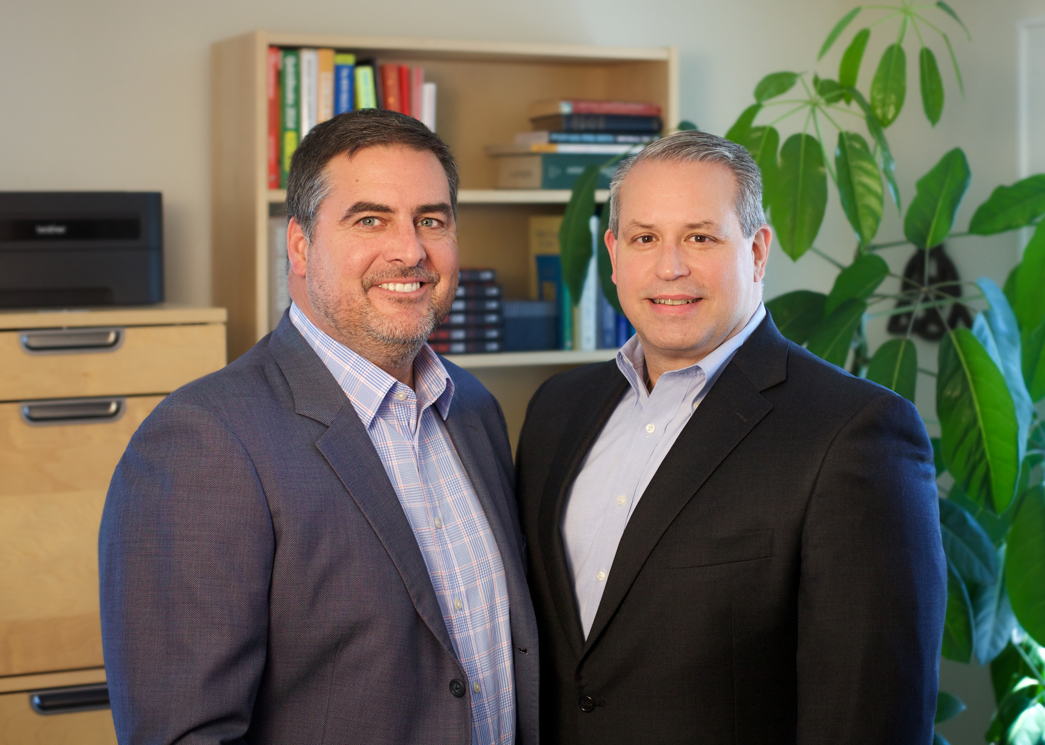 Jason Ward (L) and Patrick Ference (R), Industrial Search Partners (Photo: Business Wire)