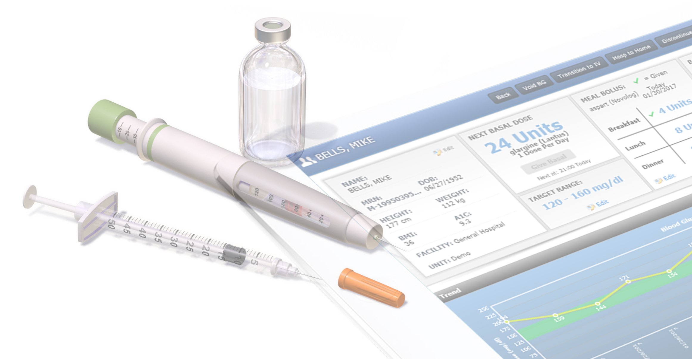 eGlycemic Management System® from Glytec is proven to reduce risks and costs of acute and chronic care therapies for patients with diabetes. (Photo: Business Wire)