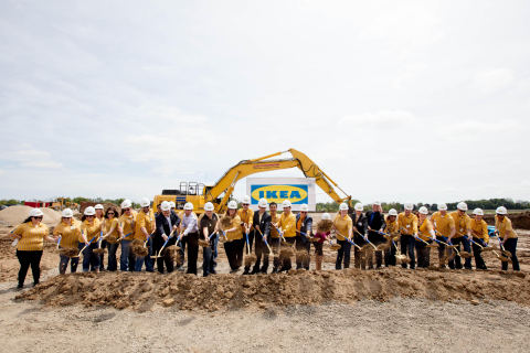 IKEA breaks ground for Milwaukee-area store, opening summer 2018 in Oak Creek, WI. (Photo: Business Wire)
