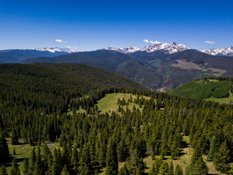 Battle Mountain Ranch, just listed by Berkshire Hathaway HomeServices Colorado Properties, spans 4,700 acres and is ideally situated between Vail and Beaver Creek. (Photo: Business Wire)