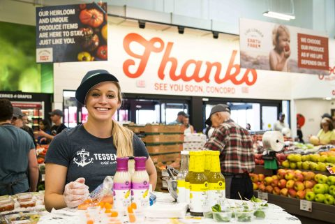 Earth Fare, the authentic specialty organic and natural foods grocery store, welcomed shoppers to its new location in Concord, North Carolina on Wednesday, June 28. (Photo: Business Wire)
