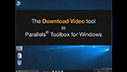 How to download a video from YouTube in one click! Parallels Toolbox for Windows software includes more than 20 single-purpose tools that let you quickly complete common computing tasks in just one click - including Download Video, Block Camera, Hide Desktop and more.