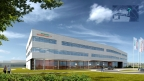 Siemens broke ground on a major expansion of a key Siemens Healthineers manufacturing and R&D facility for laboratory diagnostics in Walpole, Mass. Pictured is a rendering of the future building. (Photo: Siemens Healthineers)
