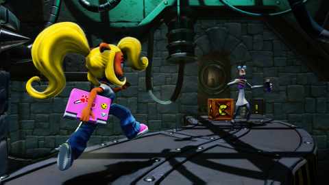 Fans can play as Crash or his spirited sister Coco in the three games that started it all with the Crash Bandicoot™ N. Sane Trilogy, available at retail starting today. (Graphic: Business Wire)