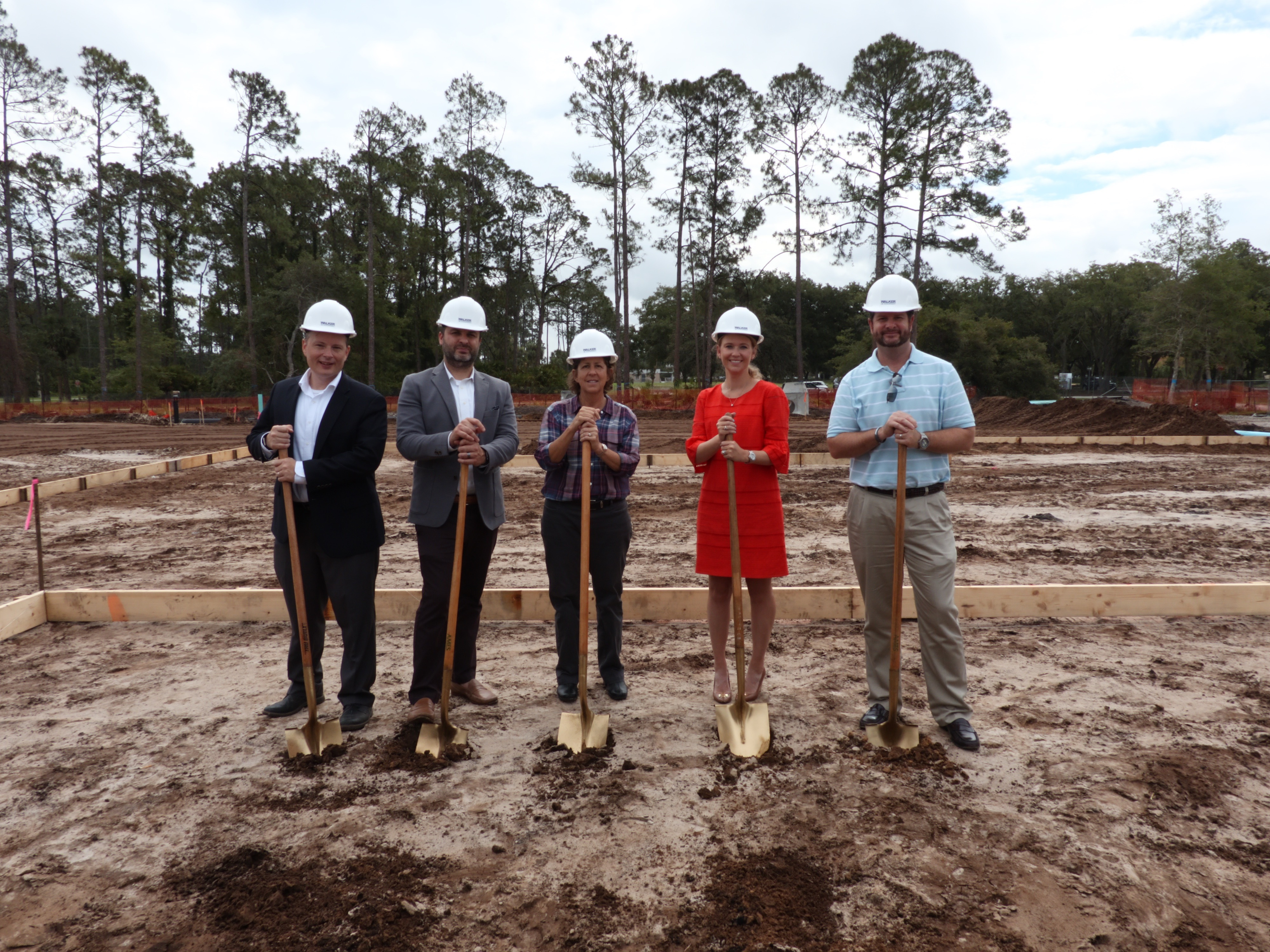 Watercrest Senior Living Group and partners celebrate the groundbreaking of Market Street Memory Care Residence in Palm Coast, Florida. (Photo: Business Wire)