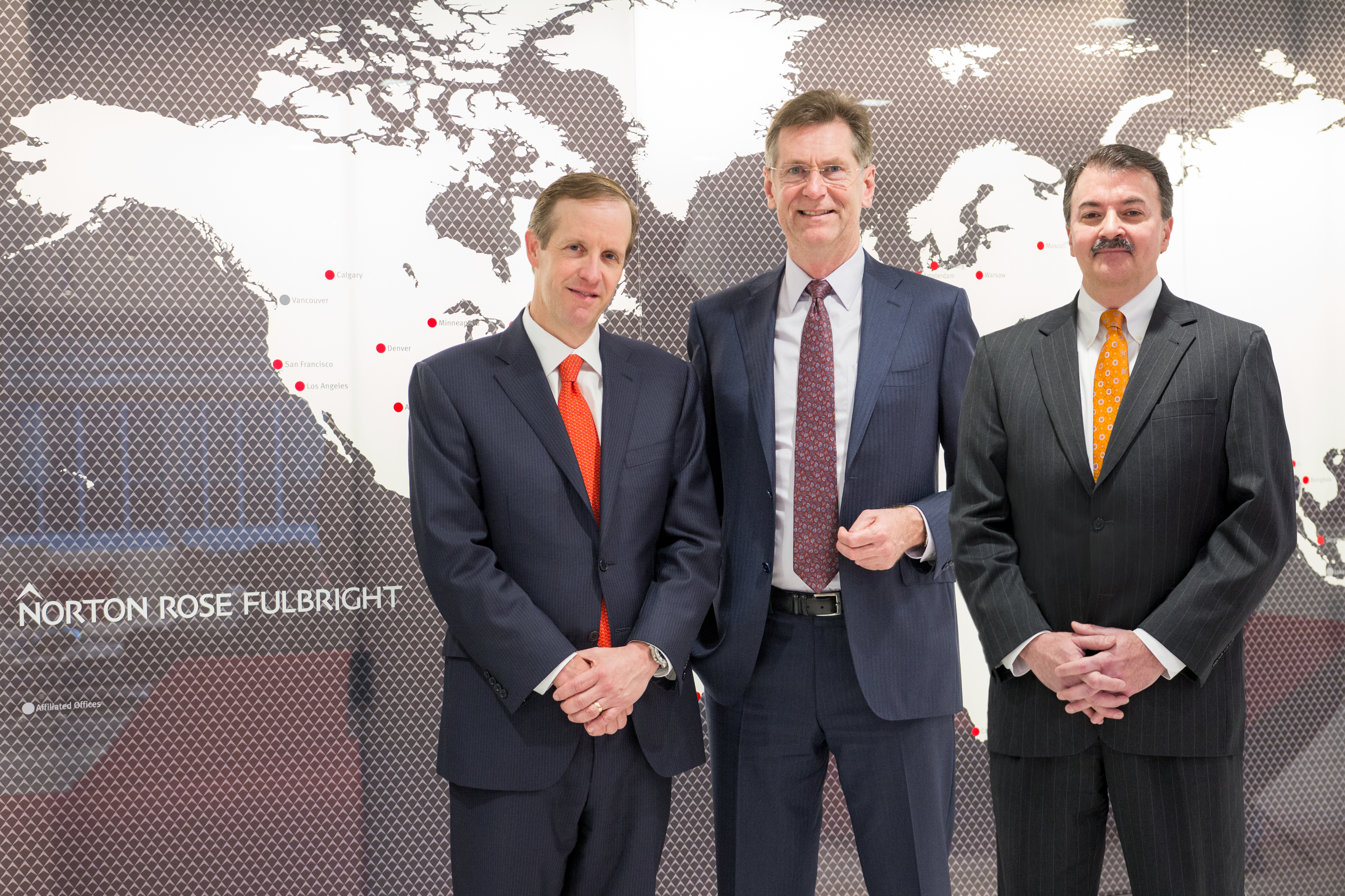 Daryl Lansdale, from left, Peter Martyr and Andrew Giaccia (Photo: Business Wire)