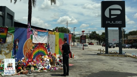 SubscriberWise founder and America's child identity guardian David Howe honoring and remembering Pulse victims (Photo: Business Wire)