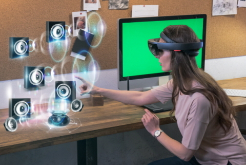 The Nationalux Research Center has stated that it will present the first AR music service platform utilizing Microsoft Hololens. (Photo: Business Wire)