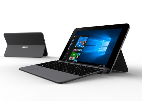 ASUS selects OT-Morpho's eSIM for the first Microsoft Windows 10 tablet computer compliant with GSMA specifications (Photo: Oberthur Technologies)