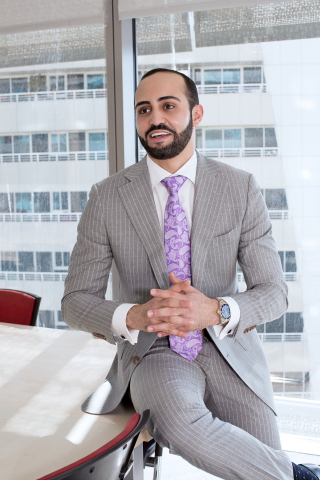 Mourad Malloul, newly elected president of the Swiss investment group Rivoli Group AG, will be focusing on growth through innovation-driven project development in the EMEA region (Photo: Business Wire)