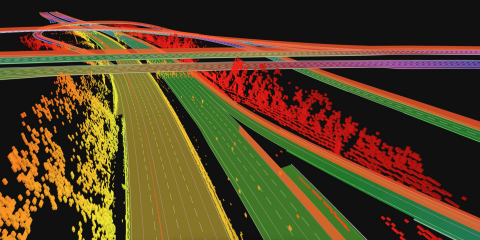TomTom High Definition Map for Autonomous Driving Now Covers Western Europe (Photo: Business Wire)