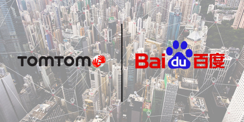 TomTom and Baidu Join Forces to Develop Unified High Definition Maps for Autonomous Driving (Photo:  ...