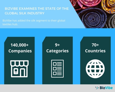 BizVibe Examines the State of the Global Silk Industry (Graphic: Business Wire)