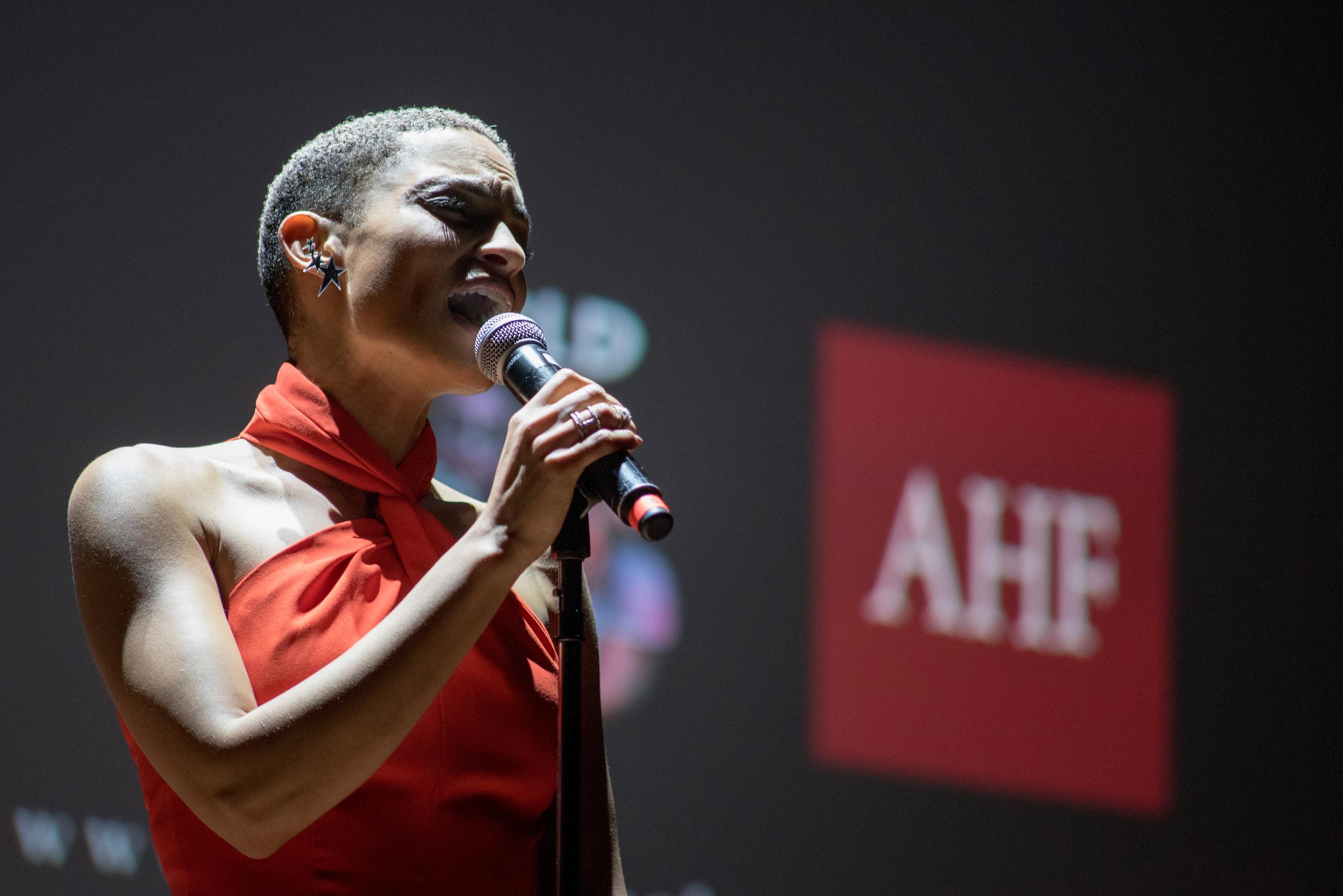 R&B Singer and AHF Ambassador Goapele Mohlabane (Photo: Business Wire)