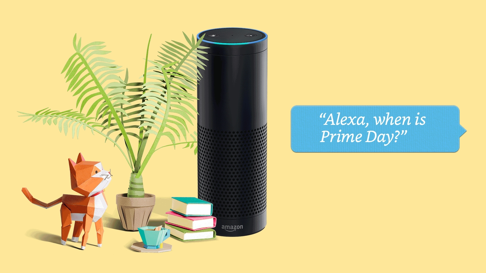 Alexa offers discounted Prime membership and early voice shopping Prime Day deals. (Photo: Business Wire)