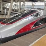 Axalta Paints China's New Bullet Train Model Fuxing