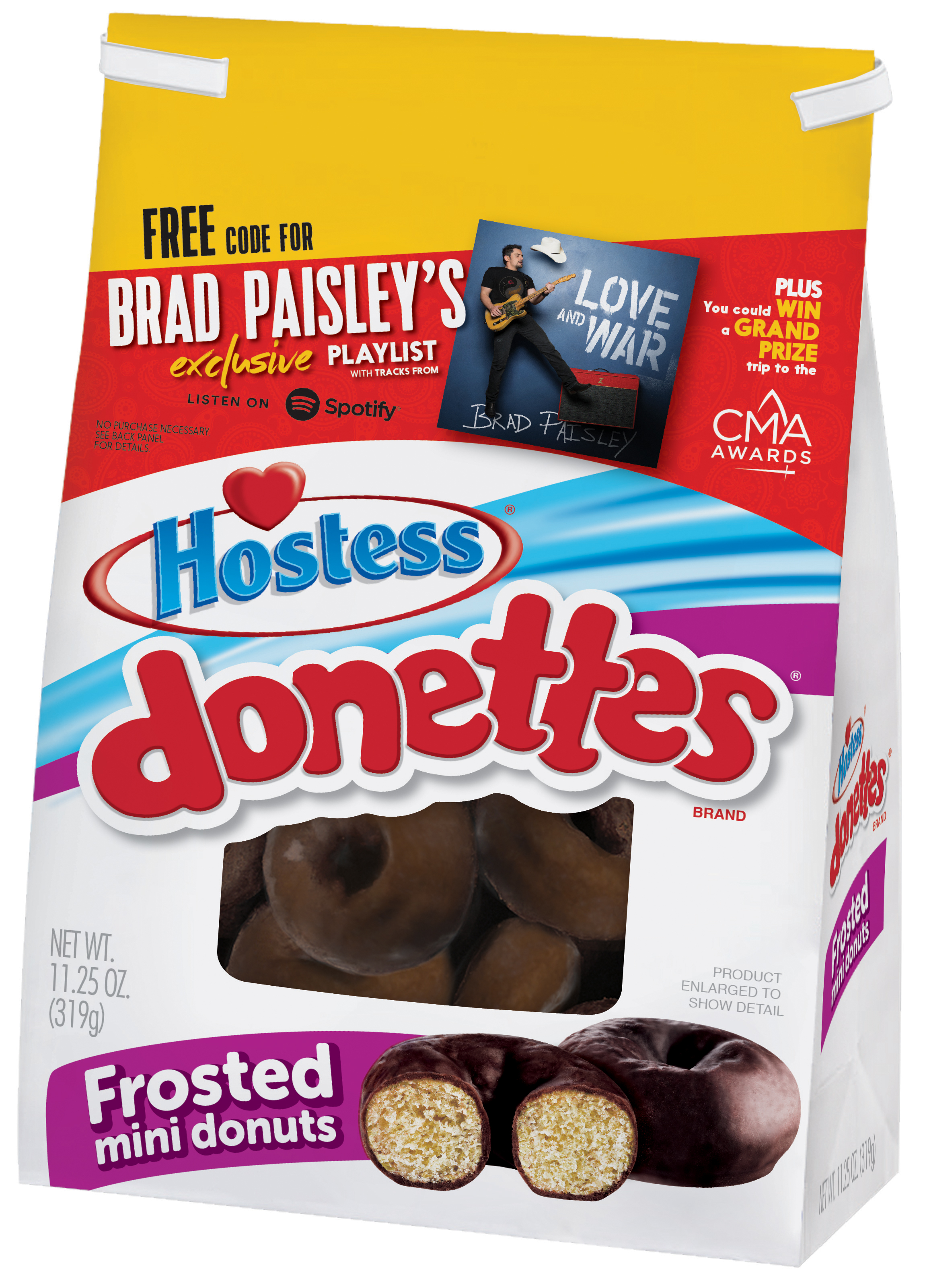 Hostess® Partners with CMA, Sony Music Nashville & Country Music