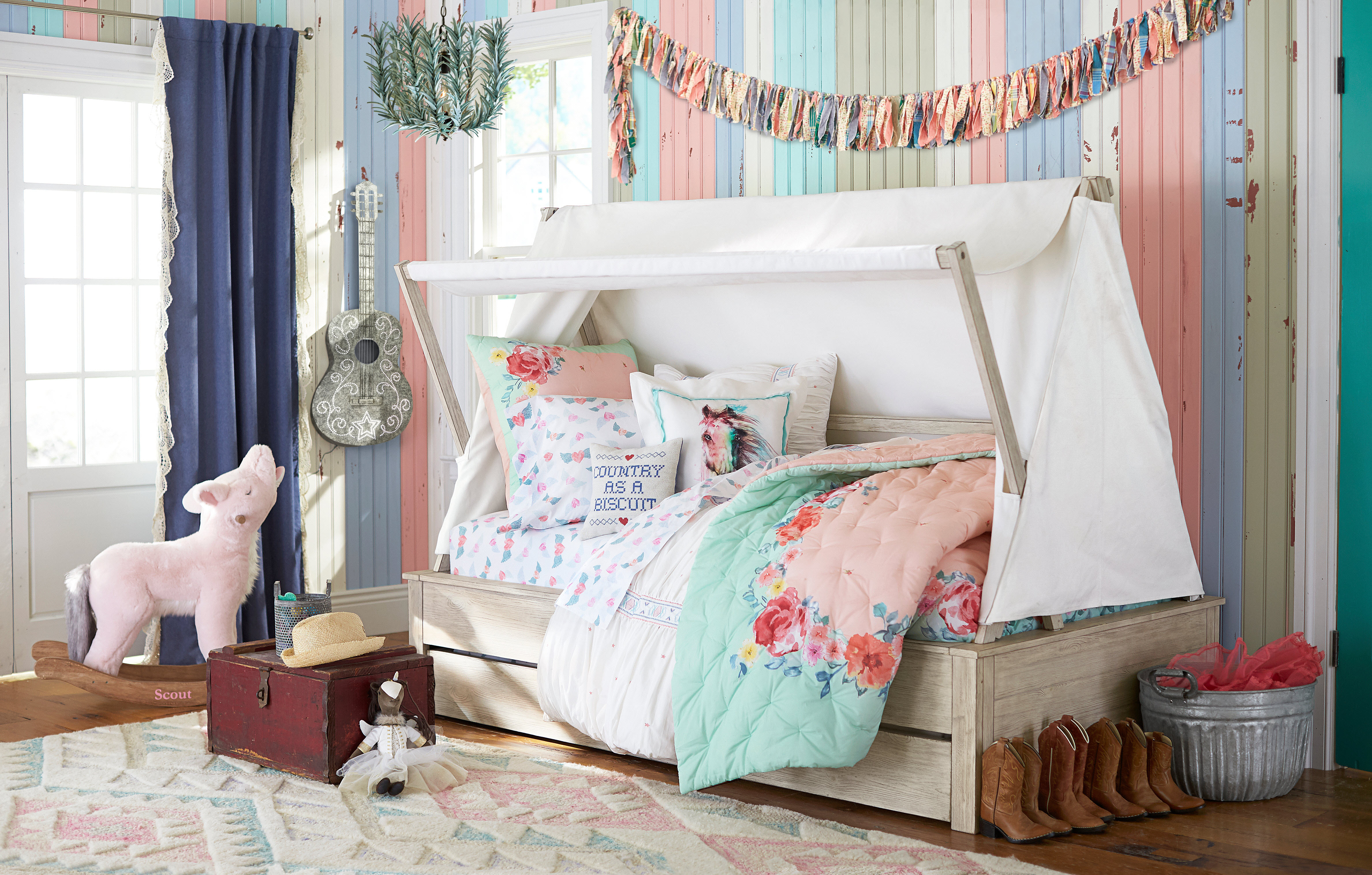 POTTERY BARN KIDS LAUNCHES EXCLUSIVE COLLECTION WITH TEXAS SISTERS