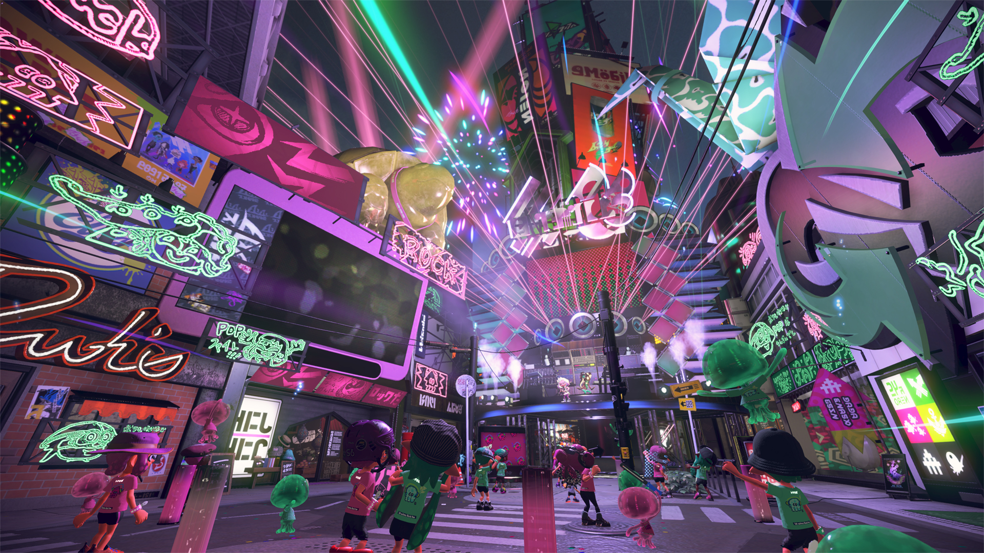 While content updates for Splatoon 2 will last around a year, more limited-time Splatfests for the game are planned for the next two years. To kick things off, a free demo to try out the first Splatfest for Splatoon 2 is going to be held on July 15 from 3 to 7 p.m. PT. (Photo: Business Wire)