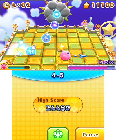Kirby is ready for action in a whole different dimension - the third dimension! (Photo: Business Wir ...