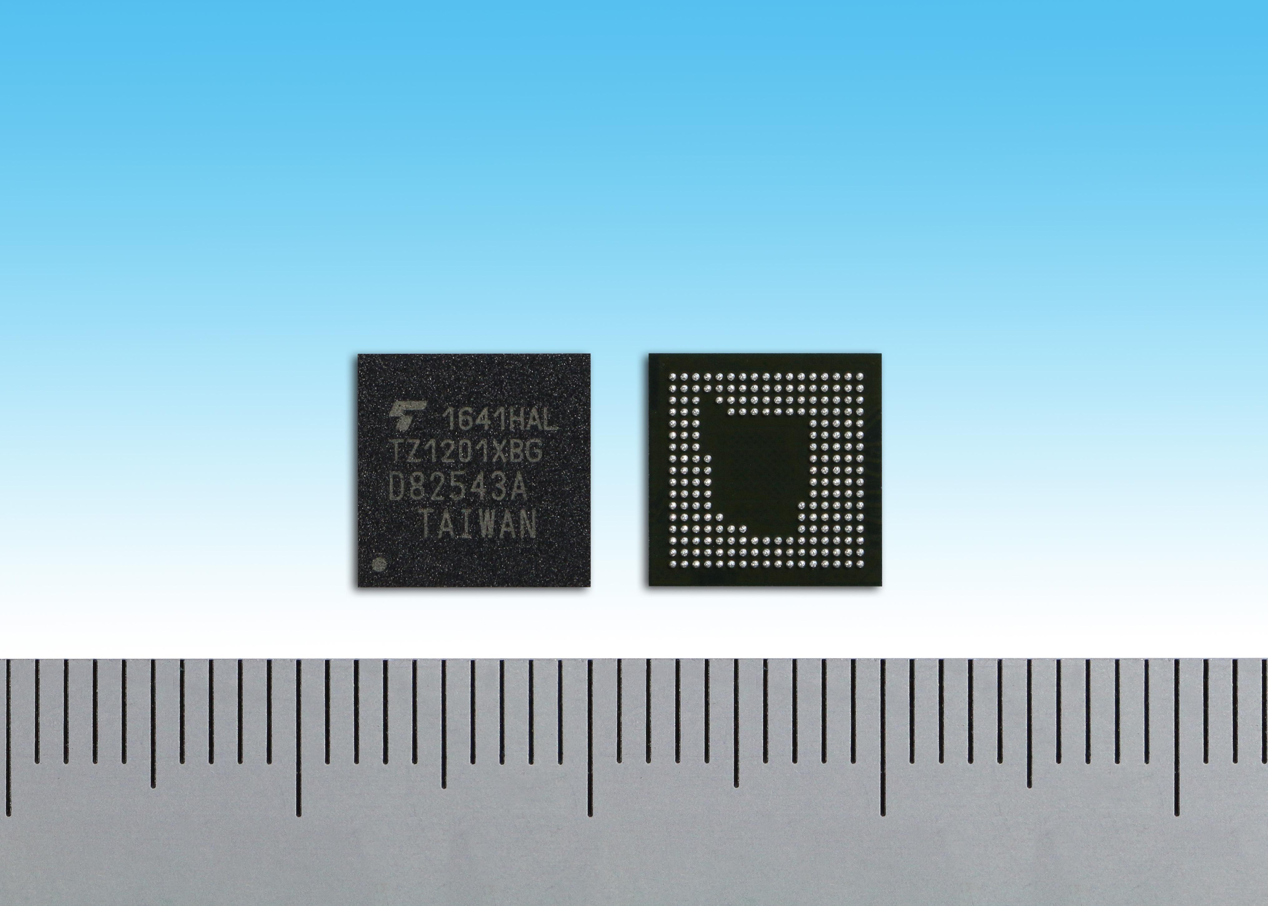 東芝:IoTやウェアラブル端末向ApP Lite(TM)ファミリーの新製品「TZ1201XBG」(写真:ビジネスワイヤ)