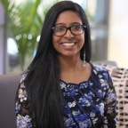 Nutrisystem Awards 2017 Girl Talk National Leader of the Year scholarship to Jathusha Mahenthirarajan of Richmond Hill, Ontario. (Photo: Business Wire)