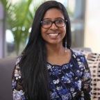 Nutrisystem Awards 2017 Girl Talk National Leader of the Year scholarship to Jathusha Mahenthirarajan of Richmond Hill, Ontario. (Photo: Business Wire)