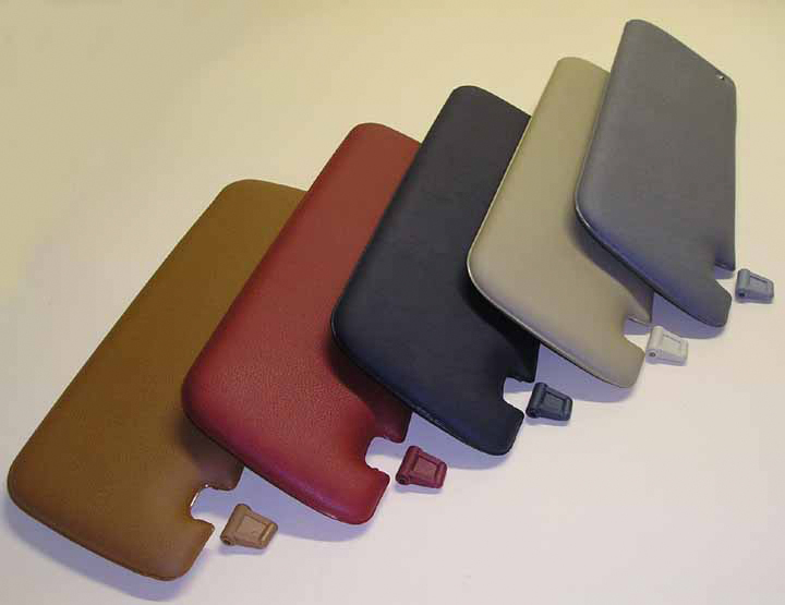 World Upholstery   Trim is Now Manufacturing Reproduction Sun Visors ... b985e48590c