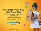Prime Now, Amazon's fastest delivery method yet, has exclusive deals and offers available for free two-hour delivery to celebrate Prime Day. (Photo: Business Wire)