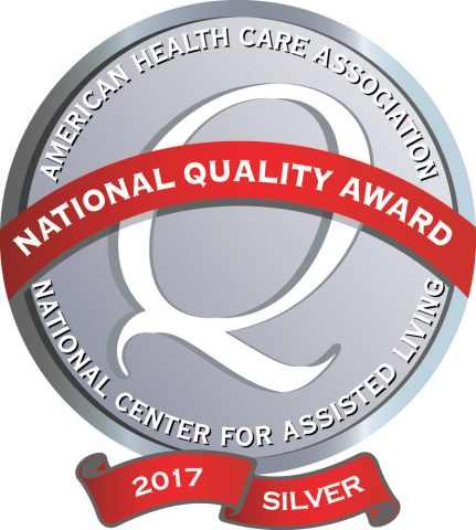 11 Sunrise Senior Living communities earn the National Silver Quality Award (Graphic: Business Wire)