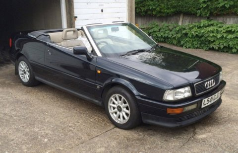 This Audio Cabriolet once owned by Princess Diana is one of several important vehicles up for bid in the July 15 Coys of Kensington Blenheim Palace Auction. Bid online on Proxibid for this and all items in the auction. (Photo: Proxibid)