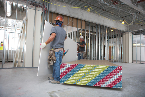CGC Inc. Celebrates 100th Anniversary of Sheetrock Brand Wallboard (Photo: Business Wire)