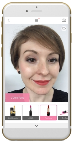 L'Oréal Joins YouCam Makeup, Perfect Corp.'s Augmented Reality Makeover App. (Photo: Business Wire)