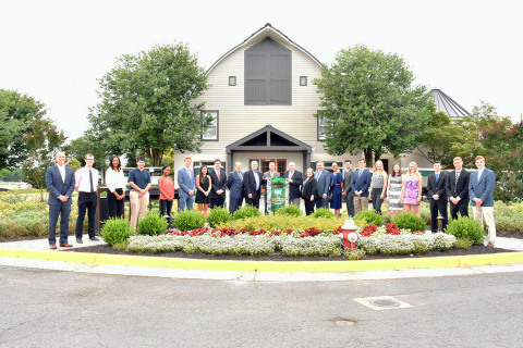 2017 NWFCU Foundation Scholarship Winners, NWFCU Foundation and CIRA Board of Directors (Photo: Business Wire)