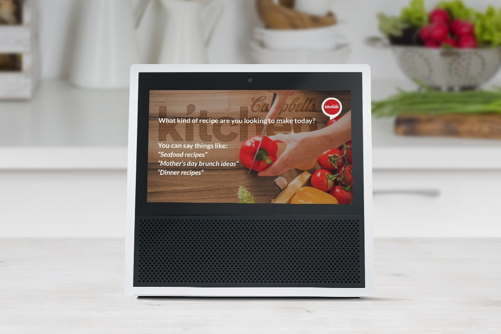 campbell soup updates alexa skill for amazon echo show business wire - Campbells Kitchen