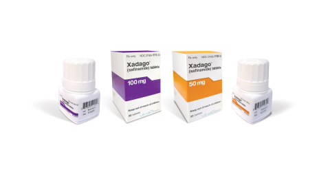 XADAGO® (safinamide) tablets (Photo: Business Wire)