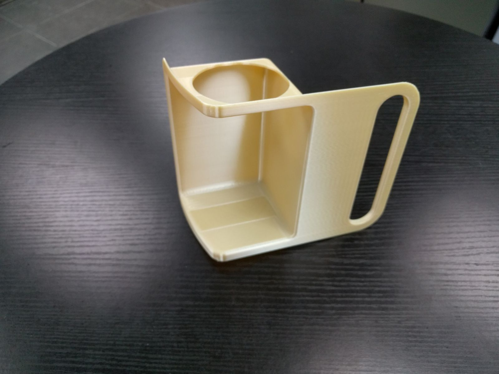 Final first class lavatory part, 3D printed in ULTEM 9085 material with the Stratasys Fortus 900mc Aircraft Interiors Certification Solution (Photo: Business Wire)