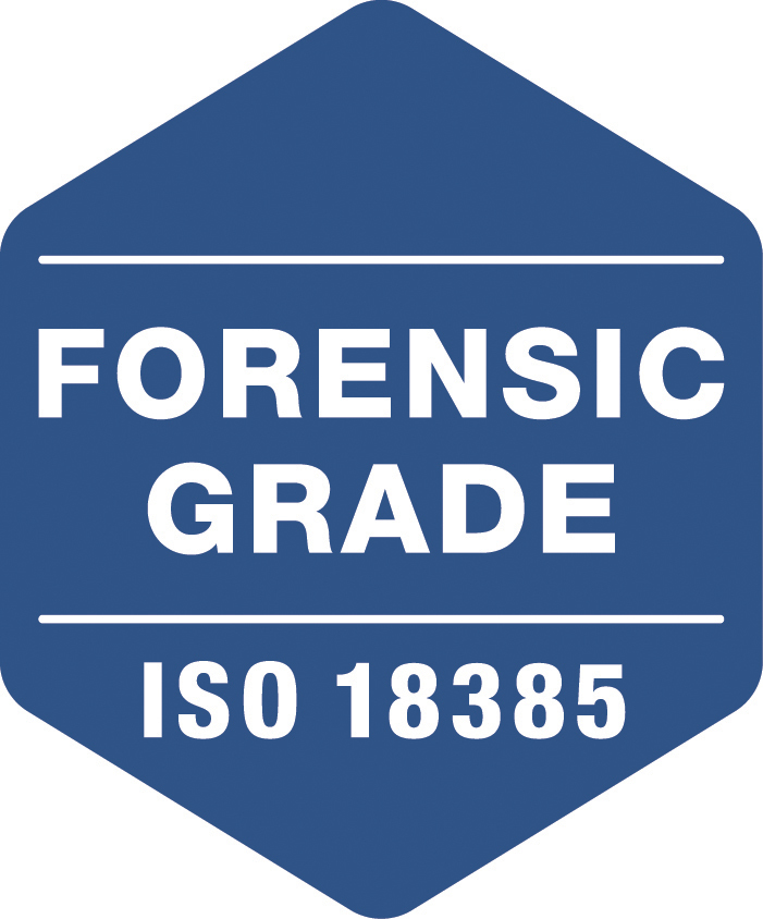 """The """"Forensic Grade"""" logo will appear on Promega products manufactured in alignment with the ISO 18385 standard. (Graphic: Business Wire)"""